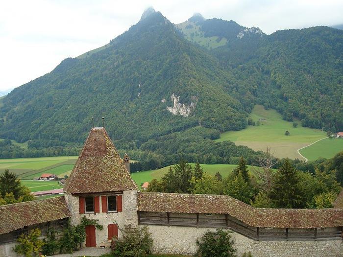 Замок графов де Грюйер (Chateau de Gruyeres) 28924