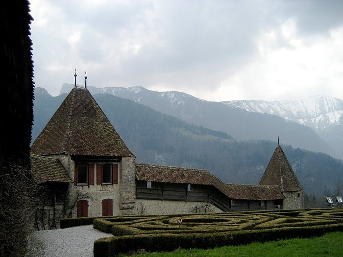 Замок графов де Грюйер (Chateau de Gruyeres) 13470