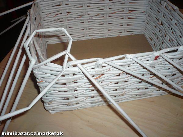 Как из бумаги сделать корзину для белья