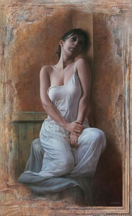 Художники портретисты - Паскаль Човеби 18