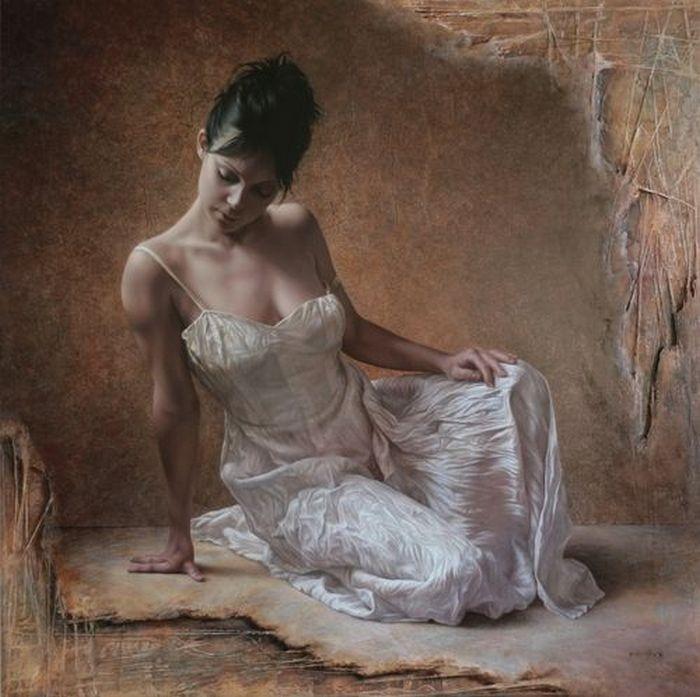 Художники портретисты - Паскаль Човеби 19