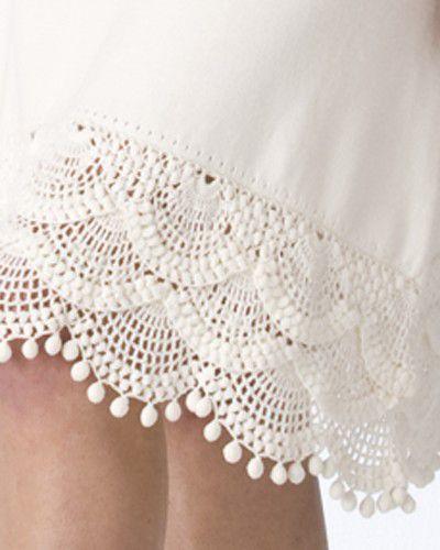 Кайма для юбки