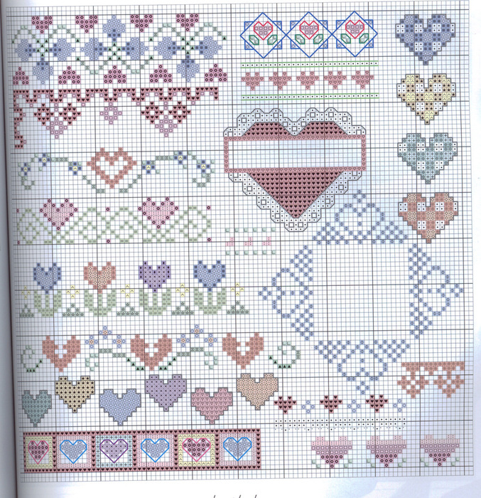 Часть 3 - Сборник схем вышивки