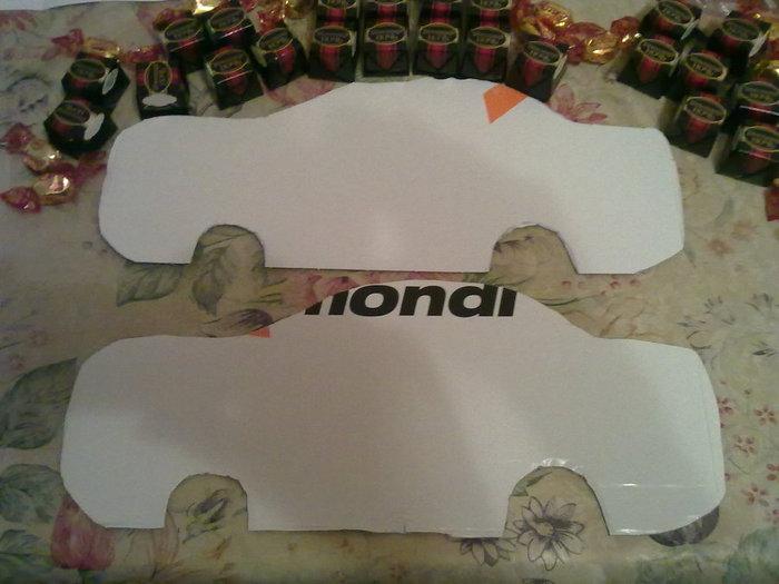 Машина из конфет своими руками с пошаговым фото