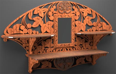 art-nouveau-shelf-and-mirror-frame-01 (450x287, 49Kb)