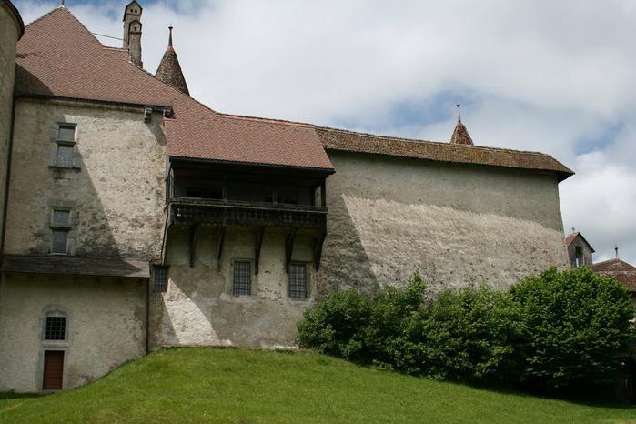 Замок графов де Грюйер (Chateau de Gruyeres) 99012