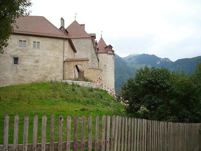 Замок графов де Грюйер (Chateau de Gruyeres) 19610
