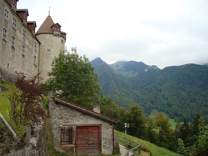 Замок графов де Грюйер (Chateau de Gruyeres) 27365