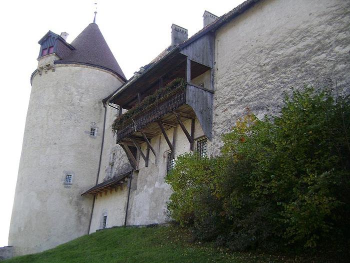 Замок графов де Грюйер (Chateau de Gruyeres) 26304