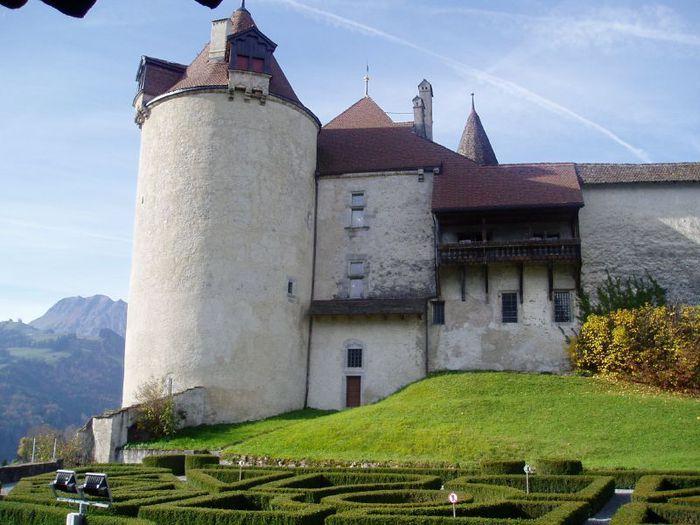 Замок графов де Грюйер (Chateau de Gruyeres) 41484