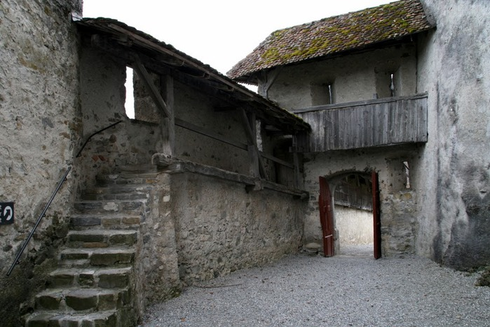 Замок графов де Грюйер (Chateau de Gruyeres) 38695