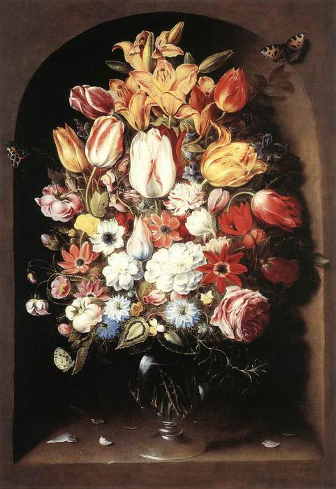 1 Bouquet in a Niche (481x700, 54Kb)