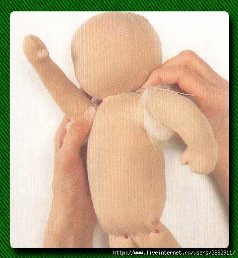 Как сшить большую куклу