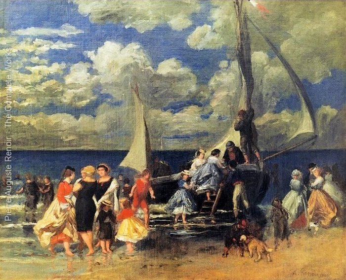 Pierre Auguste RenoirThe_Return_of_the_Boating_Party__1862 (700x568, 361Kb)