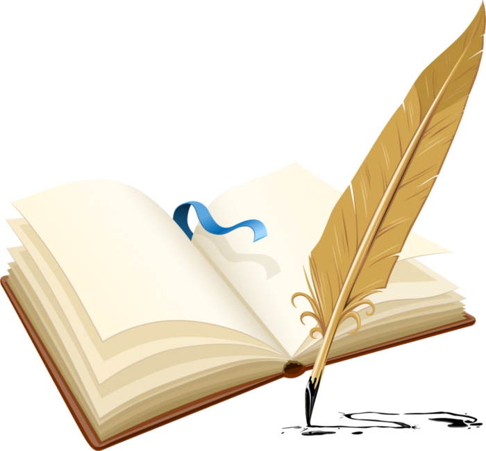 Красивые книги для школьного коллажа