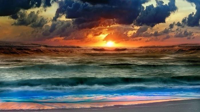 Фотографии солнца - как снимать рассвет или закат 5