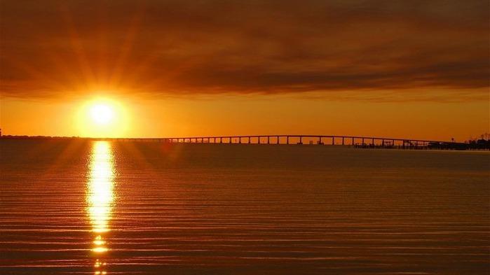 Фотографии солнца - как снимать рассвет или закат 6