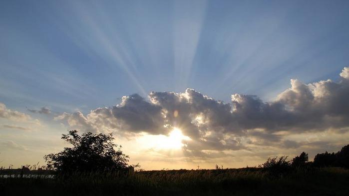 Фотографии солнца - как снимать рассвет или закат 8