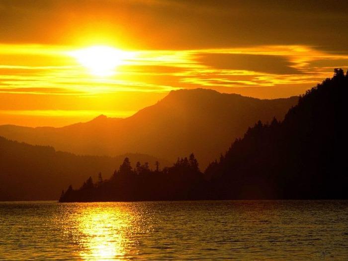 Фотографии солнца - как снимать рассвет или закат 18