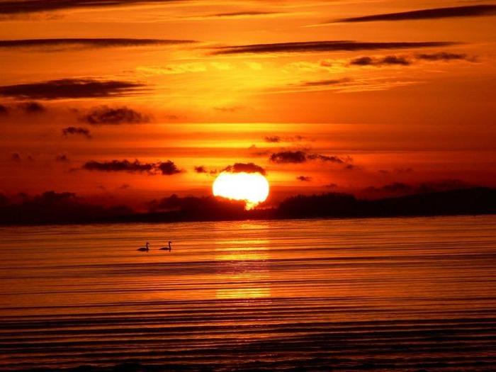 Фотографии солнца - как снимать рассвет или закат 47