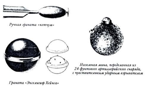 13 гранаты и мины сша (502x304, 61Kb)