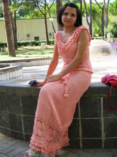 Моё новое платье, схемы от