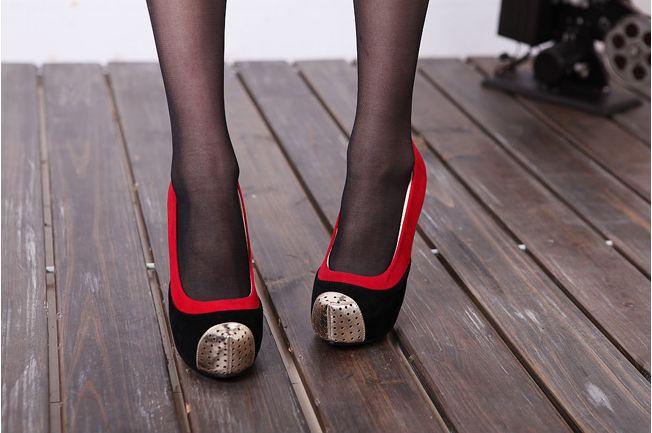 Мужские Туфли На Высоком Каблуке
