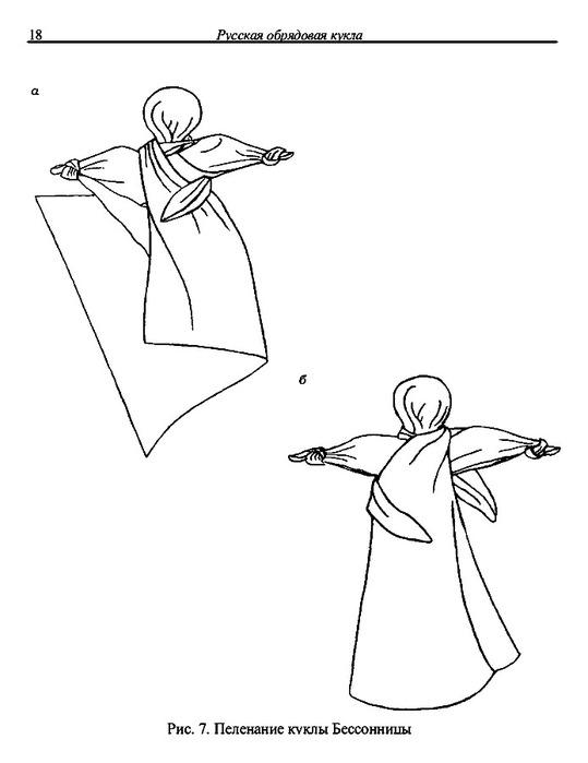 Кукла из платка своими руками мастер класс 91