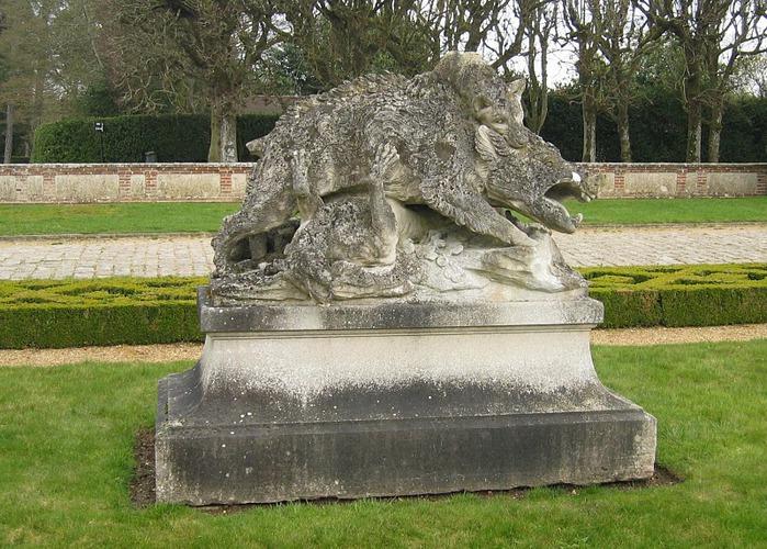 Замок Бретей / Chateau de Breteuil - в гостях у Шарля Пеpро 65612