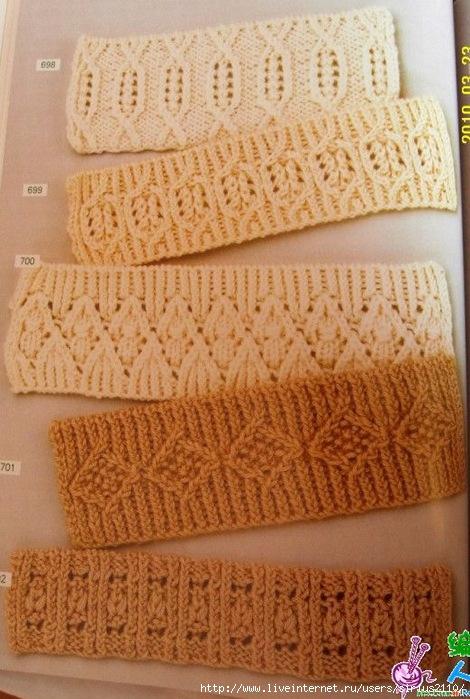 Блог.ру - lubany2108 - Вязание резинки спицами.