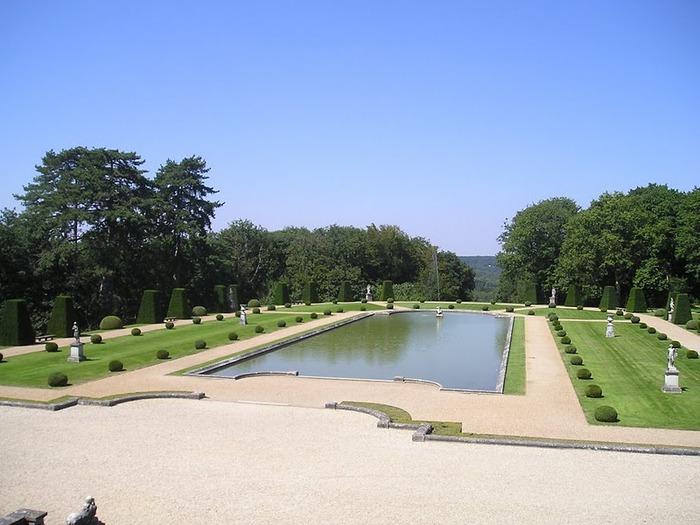 Замок Бретей / Chateau de Breteuil - в гостях у Шарля Пеpро 77296