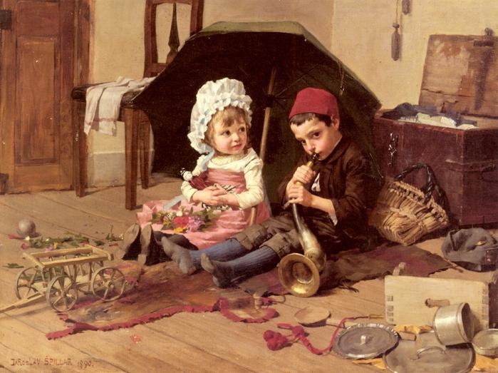 Spillar-Jaroslav 1869-1917-Playtime (700x523, 348Kb)