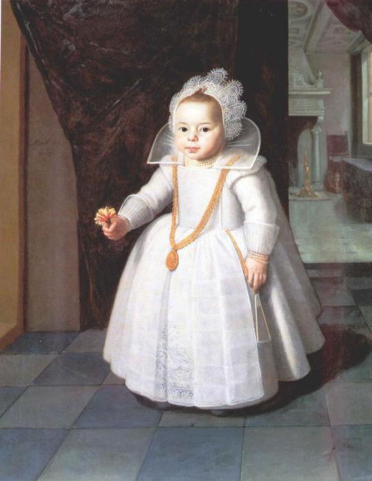 Платья 18 века для детей