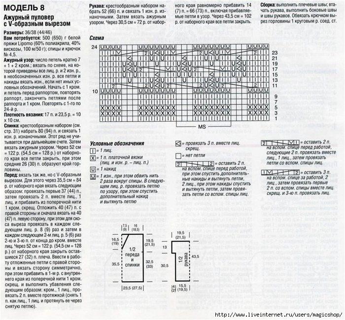 Ажурный пуловер схема/4515193_Ajyrnii_pylover_MagicShop_in_ua_opisanie (700x650, 330Kb)