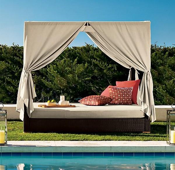 30 красивейших кроватей с балдахинами для вашей террасы 19 (600x584, 107Kb)