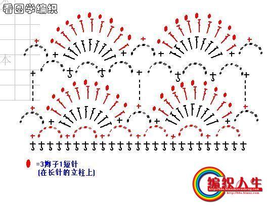12р) Ряд рогаток , прибавка через каждые 10 рогаток (Примерно 62 рогатки)С этого момента вяжем без прибавок...