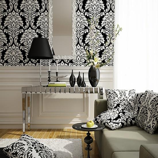 черный и белый цвет в интерьере. черно-белый интерьер спальни.
