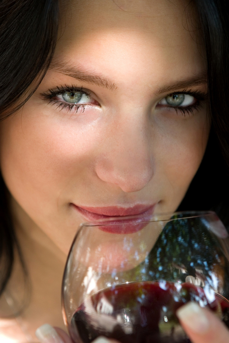 girl wine i stock (467x700, 325Kb)