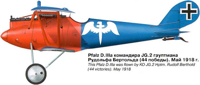 06 KO JG2 Hptm.Rudolf Berthold (44 побед). Май 1918 (700x297, 72Kb)