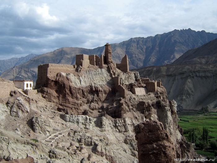 Индия, Ладакх, окрестности Леха, монастырь Shali, 2 (700x525, 245Kb)