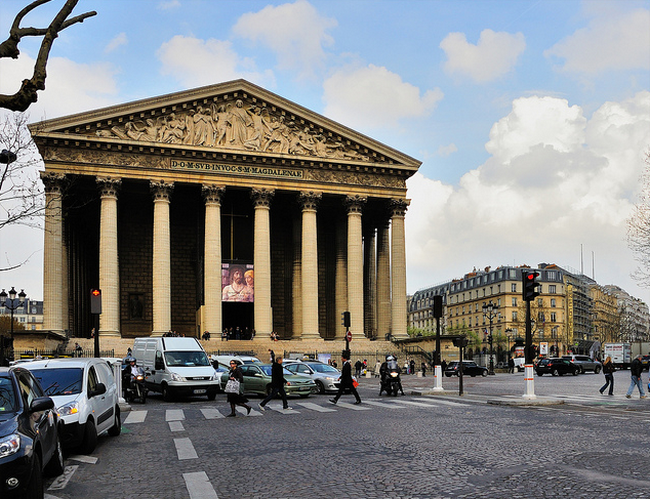 Paris - La Madeleine church  Flickr - Photo Sharing! (650x499, 762Kb)
