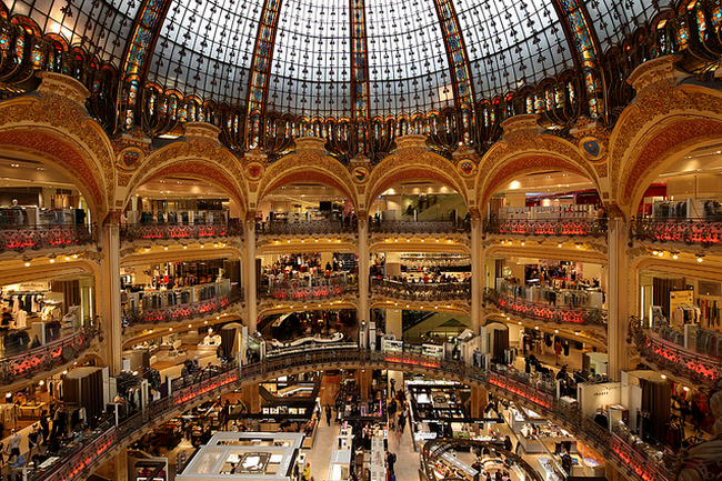 Paris Galeries Lafayette  Flickr - Photo Sharing! (650x433, 779Kb)