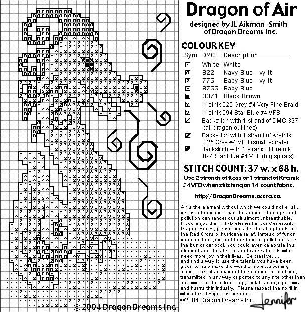 Dragon Of Air (619x631, 198Kb)