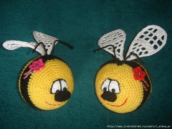 Пчёлка-смайлик