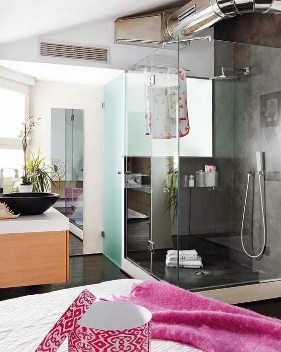 Интерьеры квартир 2011 - двухуровневая квартира в Мадриде 7 (560x700, 98Kb)