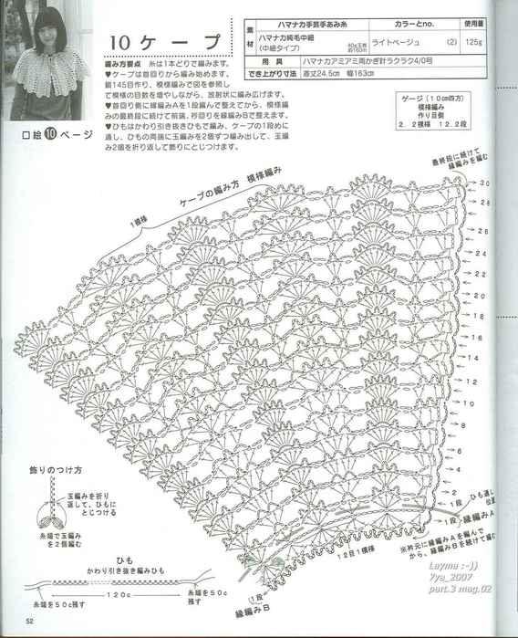 Схема к бел накидки (568x700,