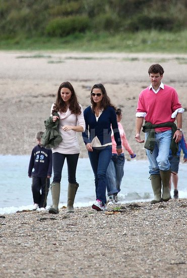 Pippa Middleton Beach