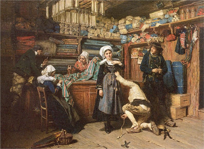 Henry Mosler ) 1841 - 1920 (700x511, 353Kb)