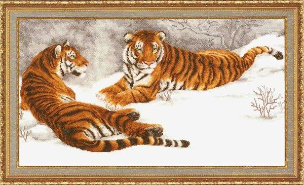 ДЖ-020 Амурские тигры (600x365