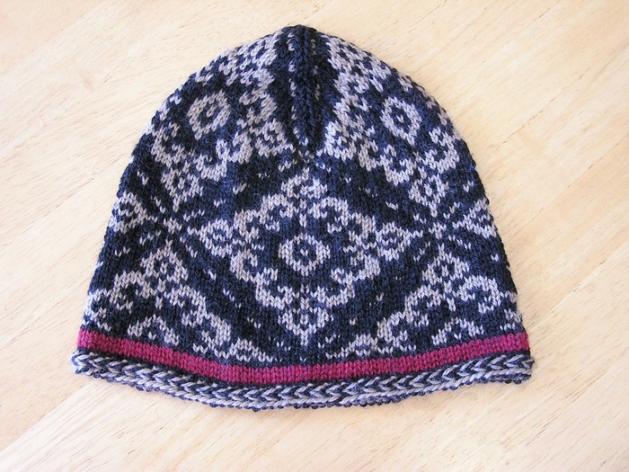 gifts ideas for men: inga hat cap, free knitting patterns